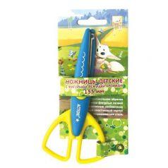 Ножницы детские длина: 155 мм Fancy Creative с фигурной режущей кромкой
