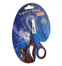 Ножницы длина: 130 мм материал ручек: пластик Action
