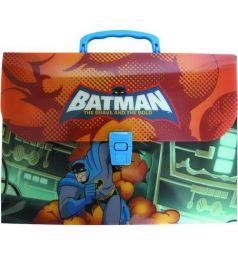 Папка-портфель Action Бэтмен: отважный и смелый А4 цвет: ассорти