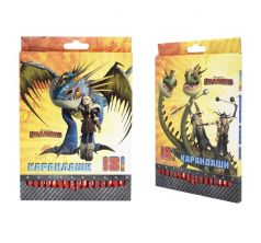 Карандаши цветные Action Dragons 18 цв.