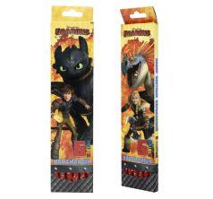 Карандаши цветные Action Dragons 6 цв.