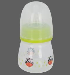 Бутылочка Бусинка полипропилен с 0 мес, 60 мл, цвет: салатовый