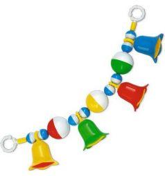 Погремушка-подвеска Stellar с шариками и колокольчиками