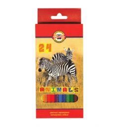 Карандаши цветные Koh-I-Noor Животные