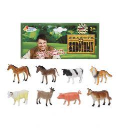 Игровой набор Играем Вместе Диалоги о животных Животные с фермы 8 см