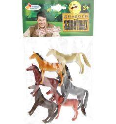 Игровой набор Играем Вместе Диалоги о животных лошадок 6 шт