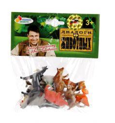 Игровой набор Играем Вместе 12 домашних животных 6 см