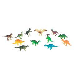 Игровой набор Играем Вместе Диалоги о животных 12 динозавров 6 см