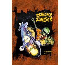 Дневник школьный А5 Action для старших классов Extreme Zombies