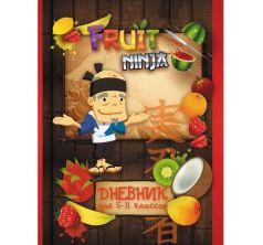 Дневник школьный А5 Action для старших классов Fruit Ninja