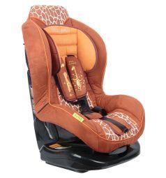 Автокресло Welldon TitanClassic, цвет: коричневый/рисунок жираф