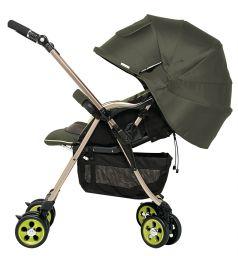 Прогулочная коляска Combi Miracle Turn XZ-600, цвет: зеленый