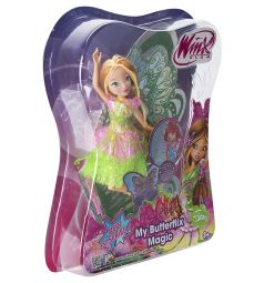 Кукла Winx Двойные крылья Флора 28 см