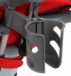 Детский трехколесный велосипед с ручкой Smart Trike Recliner, цвет: красный