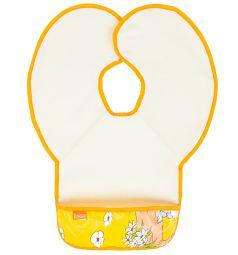 Нагрудник Витоша защитный из клеенки с ПВХ покрытием, цвет: оранжевый