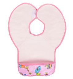 Нагрудник Витоша защитный из клеенки с ПВХ покрытием, цвет: розовый