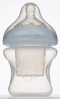 Бутылочка Nuby с диспенсером полипропилен с рождения, 150 мл
