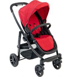 Прогулочная коляска Graco Evo, цвет: красный