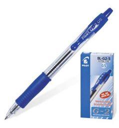 Ручка гелевая Pilot син