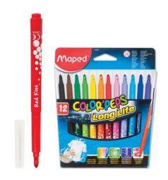 Фломастеры Maped смываемые Color'peps
