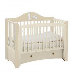 Кровать Papaloni Olivia, цвет: гоголь-моголь