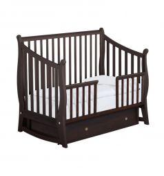 Кровать Papaloni Maggy, цвет: орех шоколадный
