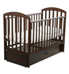 Кровать Papaloni Джованни, цвет: орех шоколадный