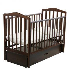 Кровать Papaloni Винни, цвет: орех шоколадный