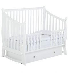 Кровать Papaloni Maggy, цвет: белый
