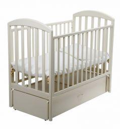Кровать Papaloni Джованни, цвет: слоновая кость