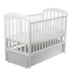 Кровать Papaloni Джованни, цвет: белый