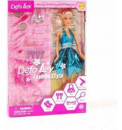 Кукла Defa Lucy Fashion Style с аксессуарами 29 см