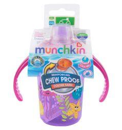 Поильник-чашка Munchkin С носиком, от 6 мес, цвет: сиреневый
