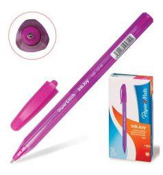 Ручка шариковая Paper Mate InkJoy 100 Cap роз