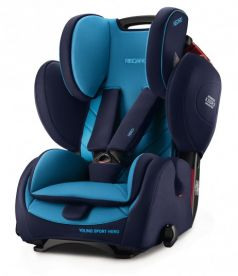Автокресло Recaro Young Sport Hero, цвет: xenon blue