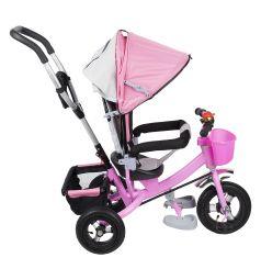 Трехколесный велосипед Kids Cool HP-TC-006, цвет: розовый