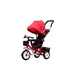 Трехколесный велосипед Kids Cool HP-TC-006, цвет: красный