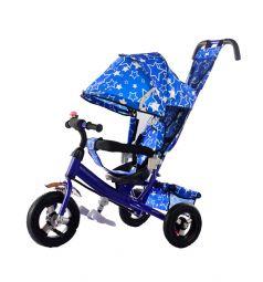 Трехколесный велосипед Kids Cool HP-TC-701 EVA, цвет: синий