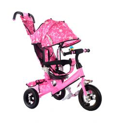 Трехколесный велосипед Kids Cool HP-TC-701 EVA, цвет: розовый
