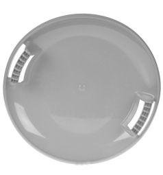 Санки Пластик Тобоган, цвет: серый