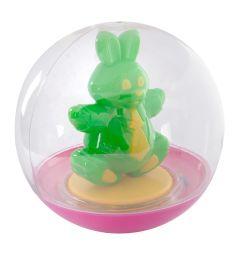 Погремушка-неваляшка Stellar Зеленый зайчик