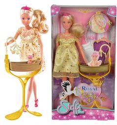 Кукла Steffi Беременная кукла Штеффи с люлькой