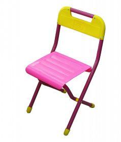 Стул детский складной Дэми №2, цвет:розовый