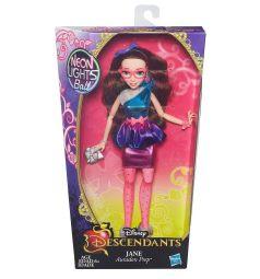 Кукла Disney Герои светлые серии неон Jane 28 см