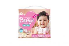 Подгузники Beffys Extra dry для девочек (13+ кг) 32 шт.