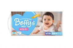 Подгузники Beffys Extra dry для мальчиков (5-10 кг) 44 шт.