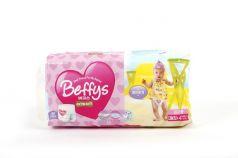 Трусики-подгузники Beffys Extra soft для девочек (10-14 кг) 36 шт.