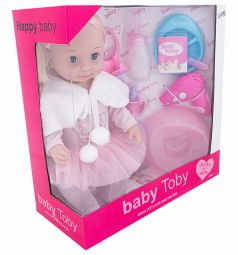 Кукла Wei Tai Toys с аксессуарами 43 см