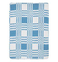 Моей крохе Одеяло 140 х 100 см, цвет: голубой