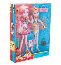 Набор кукол Kaibibi 2 куклы с аксессуарами 28 см